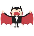 Cartoon vampire vector image