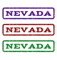 nevada watermark stamp vector image