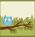 owl nature vector image