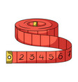 red roulette seamstressessewing or tailoring vector image