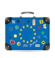 Europa vector image