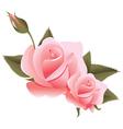 Flower design element vector image