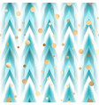 seamless ikat ethnic pattern vector image