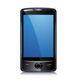 Touch screen mobile smart phone vector image