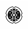 Shield icon simple style vector image