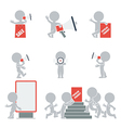 Flat people promotion vector image vector image