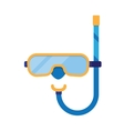 diving masks icon vector image