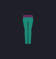 pants computer symbol vector image