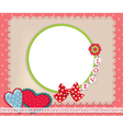 Background love vector image vector image