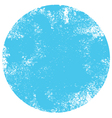 textured blue dot vector image vector image