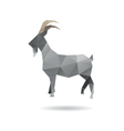 Goat abstract isolated vector image