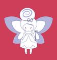 Magic fairy vector image