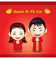 Chinese new year Gong Xi Fa Cai vector image