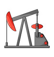 oil pumpoil single icon in cartoon style vector image