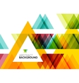Triangle geometric concept vector image