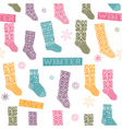 socks vector image vector image