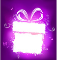Violet holiday design with white place for your vector image