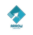 arrow abstract symbol vector image