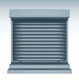 Roll Up Shutters vector image
