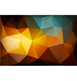 Colorful Polygon abstract background vector image