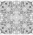 Full frame decorative background without color vector image