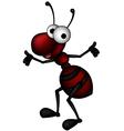 Happy ant vector image vector image
