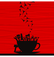 Tool a cup vector image vector image