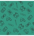 Sexual set icons pattern vector image