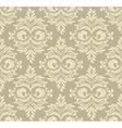 Abstract damask pattern vector image vector image