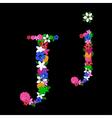 j letter vector image vector image
