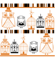 owls background vector image vector image