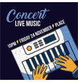 live music concert vector image