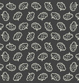 pattern of brain on a gray background vector image