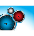 car speedometer Abstract background vector image
