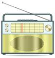 Radio receiver vector image vector image