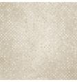 Vintage polka dot texture vector image