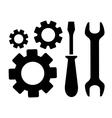 concept repair symbol vector image