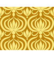 Grand floral background vector image