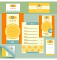 Template logo and corporate identity vector image