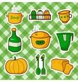 kitchen food vector image