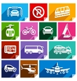 Transport flat icon bright color-06 vector image