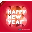 Happy New Year composition vector image