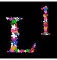l letter vector image vector image