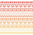 Seamless gray and white pattern vector image vector image