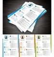 Resume vector image