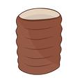 Clay cup vector image