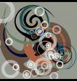 tribal swirl vector image vector image
