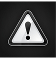 hazard warning sign vector image