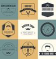 Barber Logos vector image