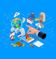 billing concept or web payment vector image